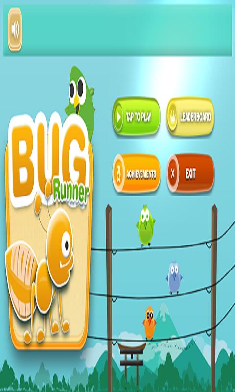 Bug Runner 2D - Running Game