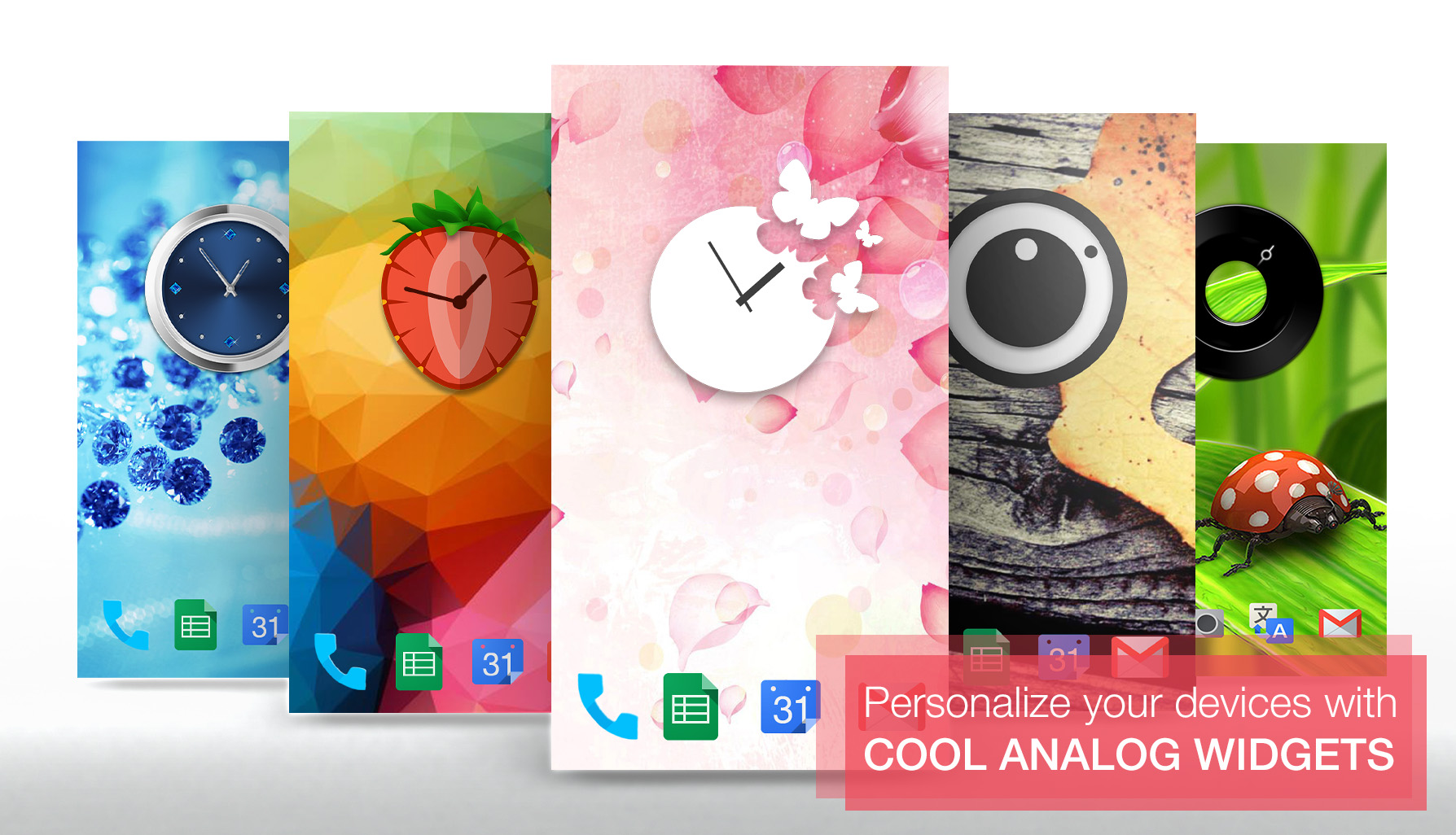 Cool Analog Widgets