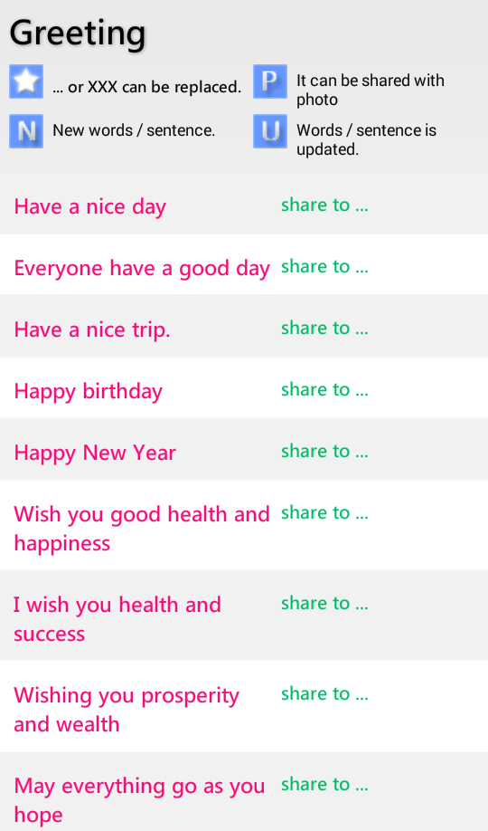 English Sharing Apps