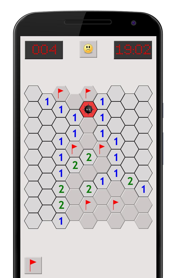 Hexa Minesweeper - Hex Mines