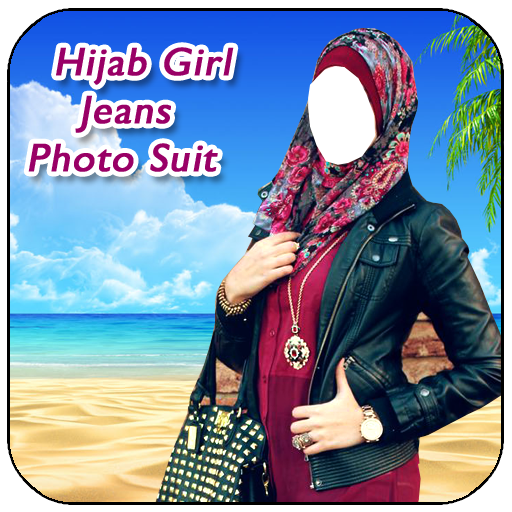 Hijab Girl Jeans Photo Suit New