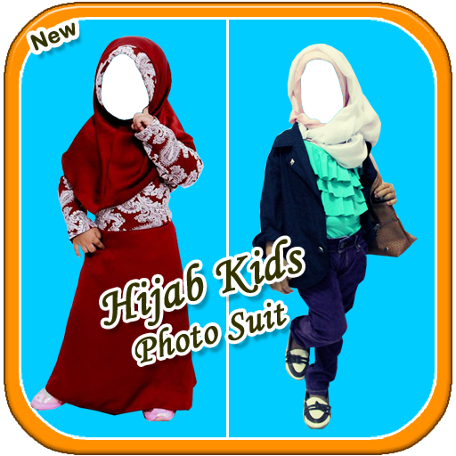 Hijab Kids Photo Suit HD