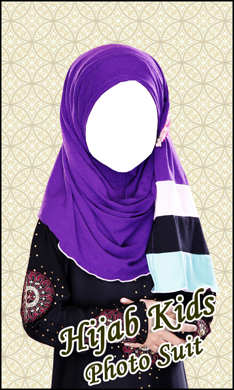 Hijab Kids Photo Suit HD