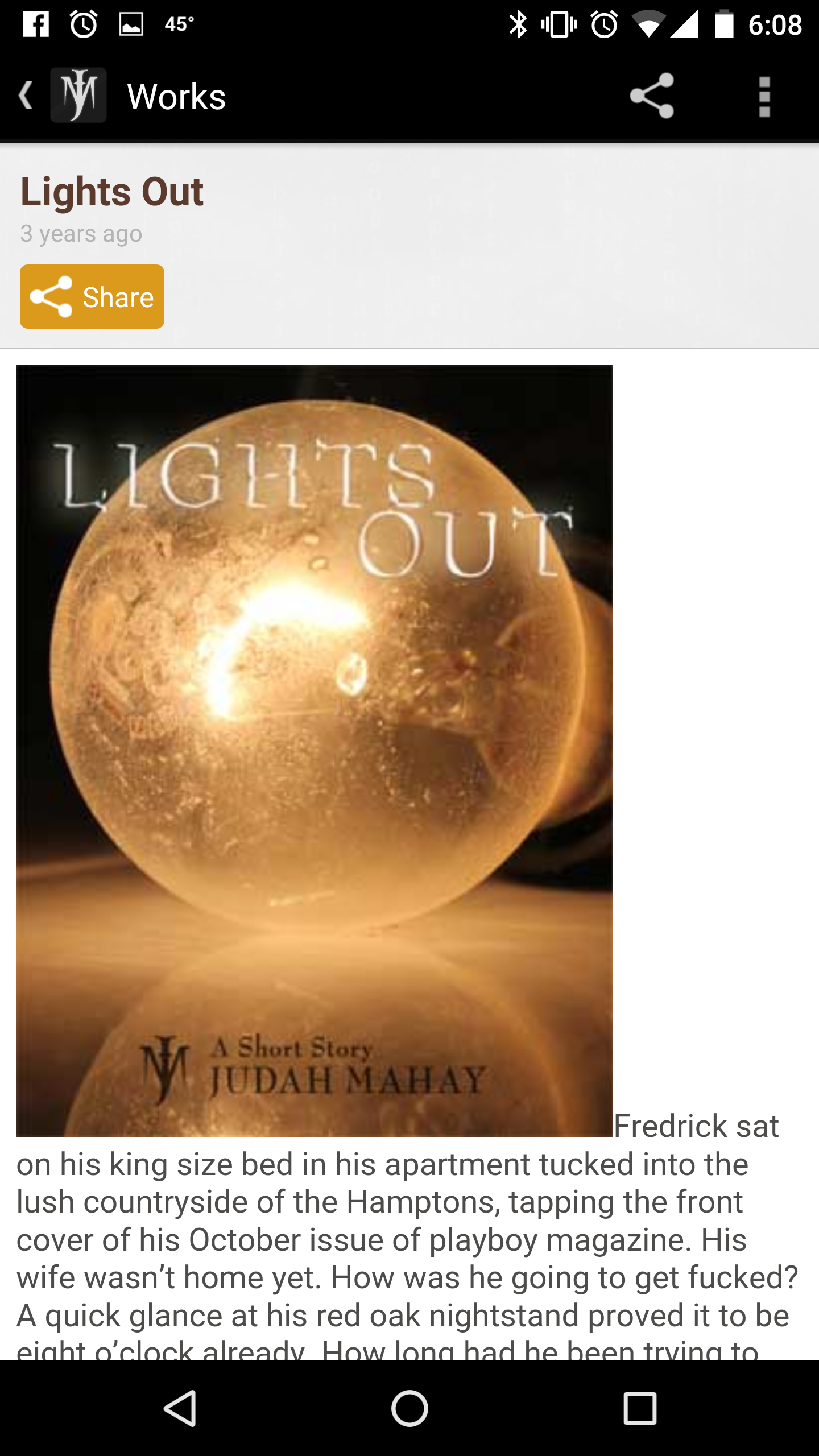 Judah Mahay, Author App