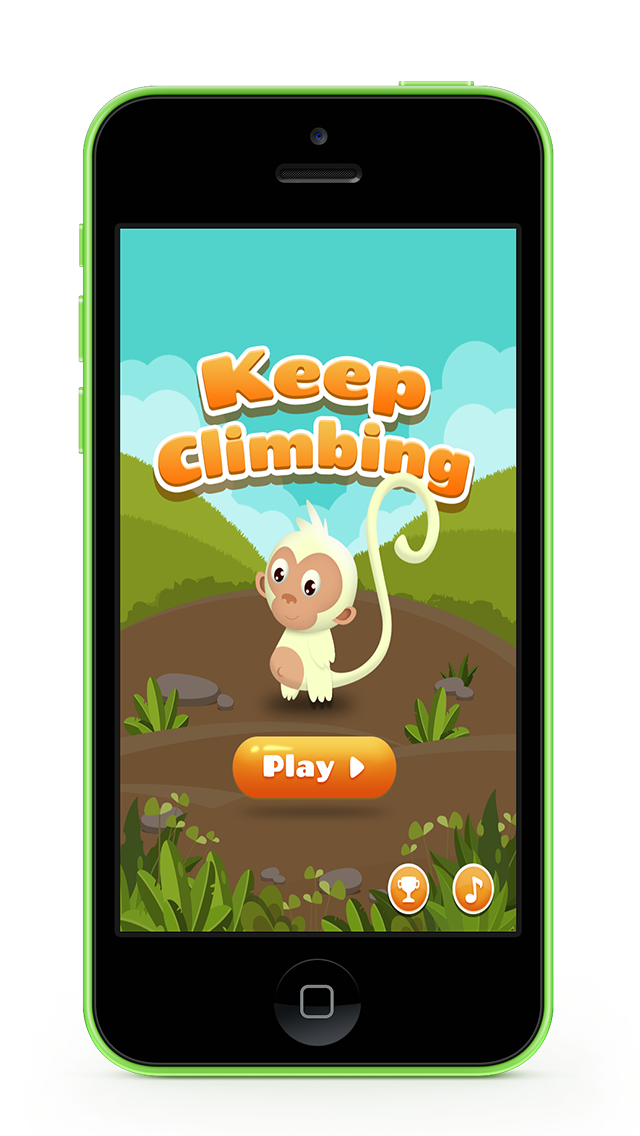 Keep Climbing - Monkey Jumping