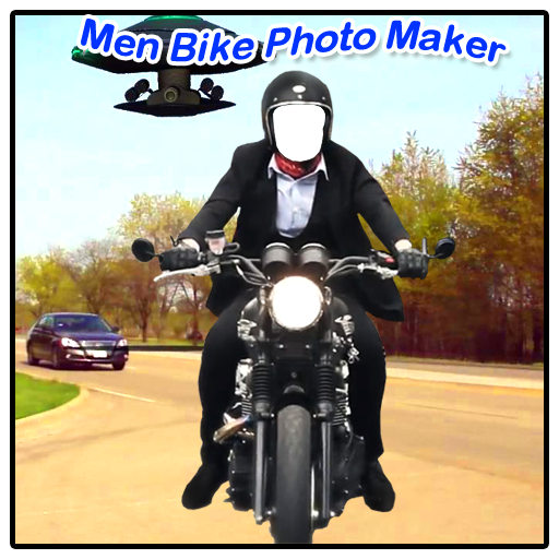 Men Bike Photo Maker New