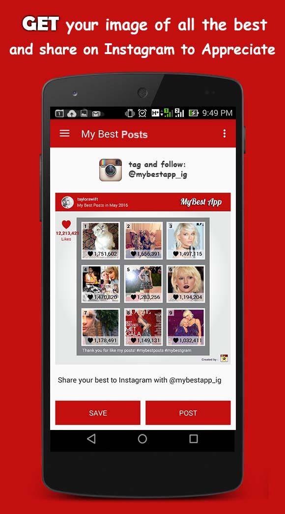 MyBest App for Instagram