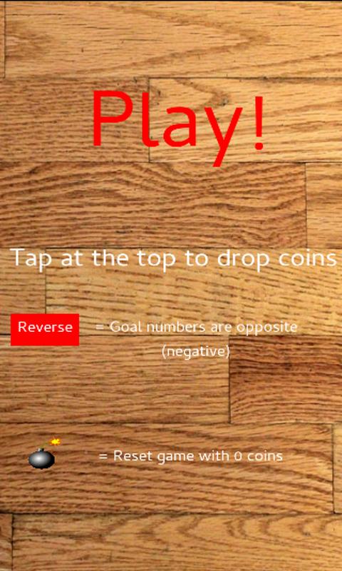 Pegs Coin Drop