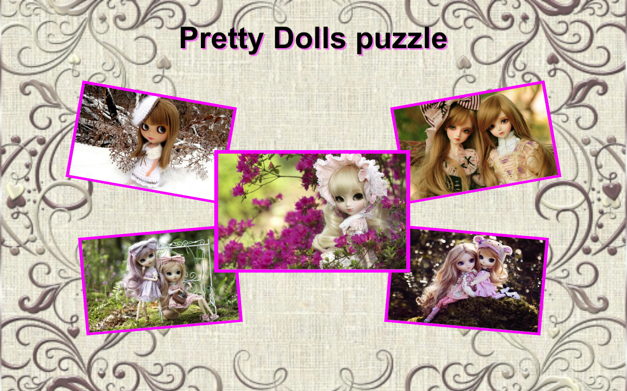 Pretty Dolls the Jigsaw Puzzle