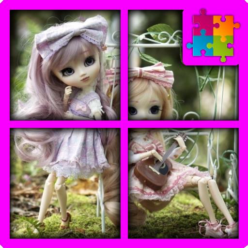 Pretty Dolls the Jigsaw Puzzle