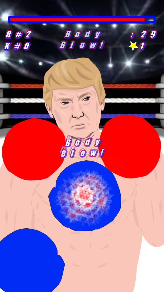 PUNCH DONALD TRUMP!!