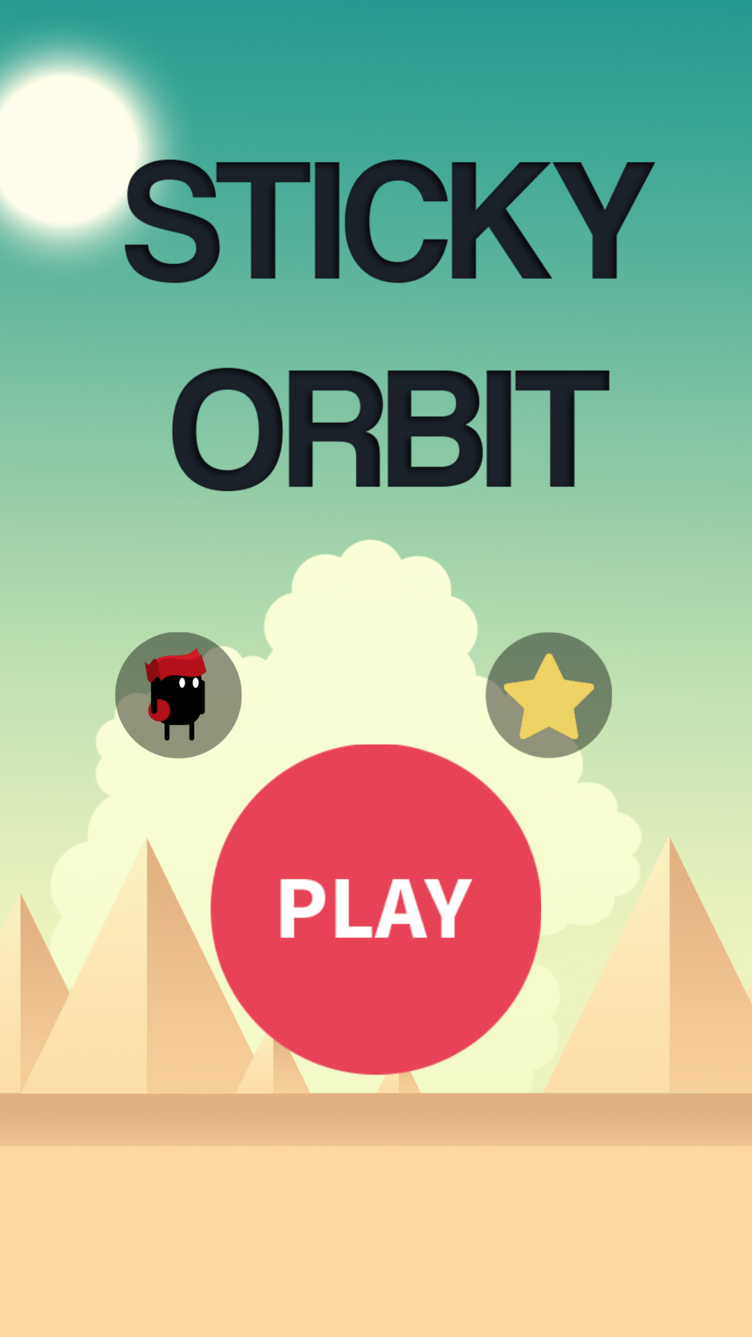Sticky Orbit