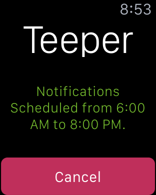 Teeper - Your Personal Time Keeper