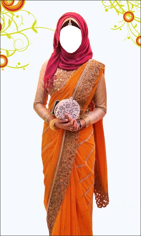 Women Hijab Saree Suit