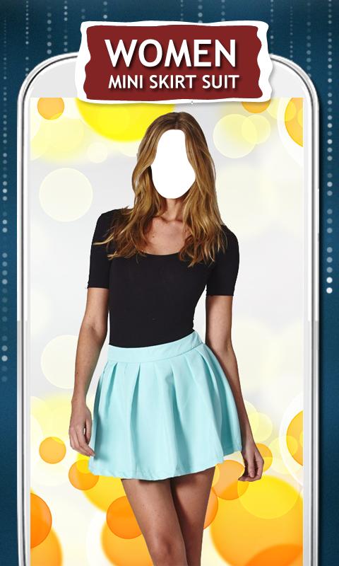 Women Mini Skirt Suit New