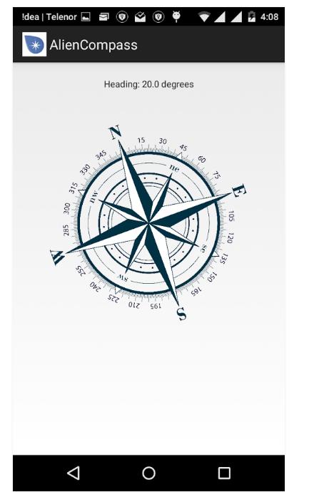 alien compass