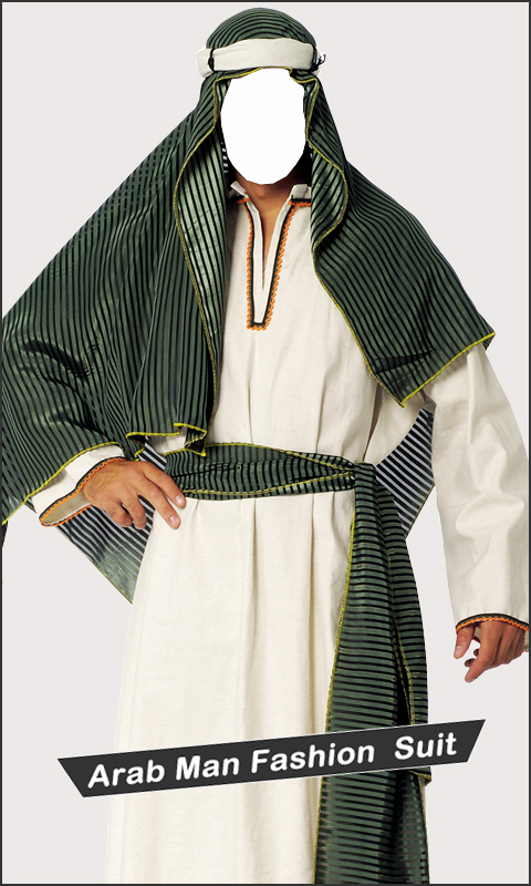Arab Man Fashion New Suit HD