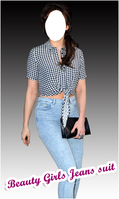 Beauty Girls Jeans Suit