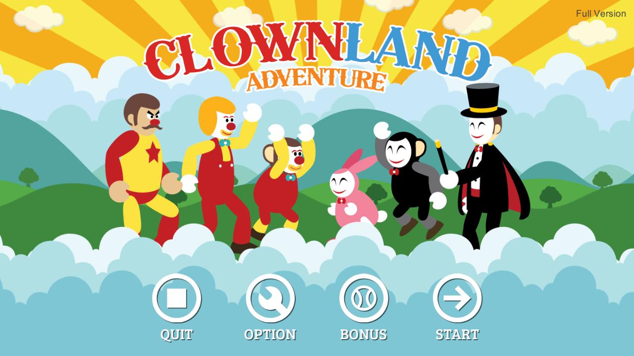 Clown Land Adventure Full