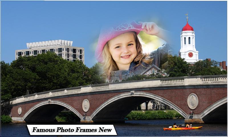 Famous Places Photo Frames