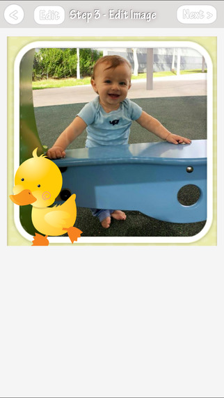 iLove Baby Photos - decorate, share and print your baby photos