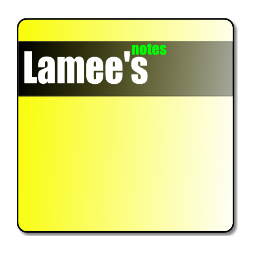 Lamees Notes Notepad