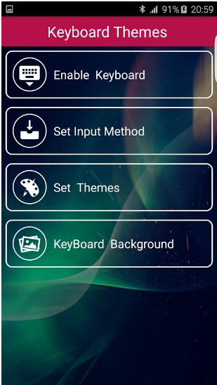 Photo Keyboard Themes