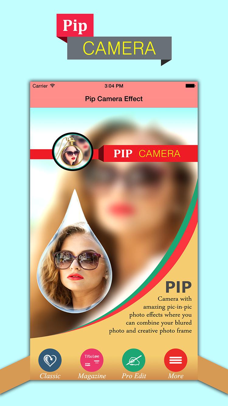 PIP Camera-Photo In Photo Effect