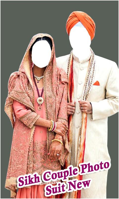 Sikh Couple Fashion Suit New