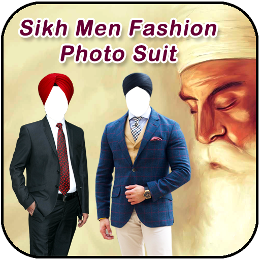 Sikh Men Fashion Photo Suit