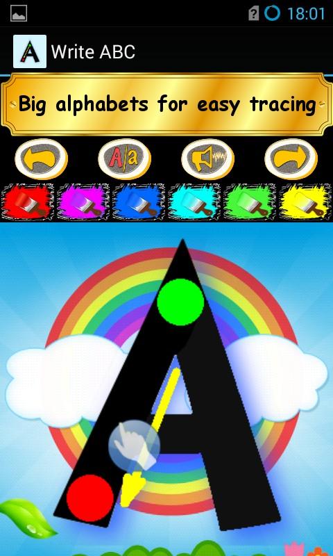 Write ABC - Learn Alphabets