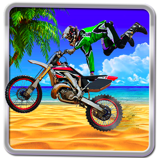 Beach Bike Crazy Stunt