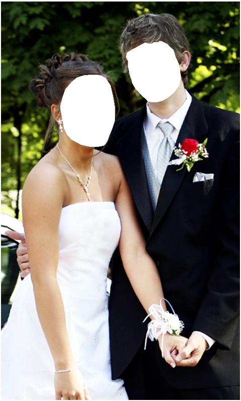 Couple Romantic Photo Montage