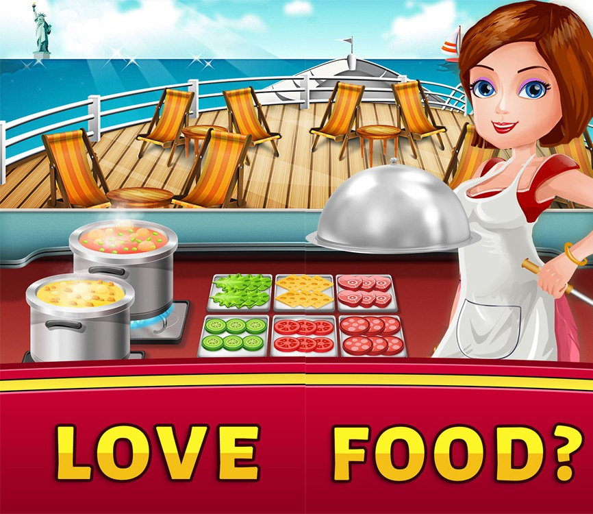 Cruise Cooking World Dash