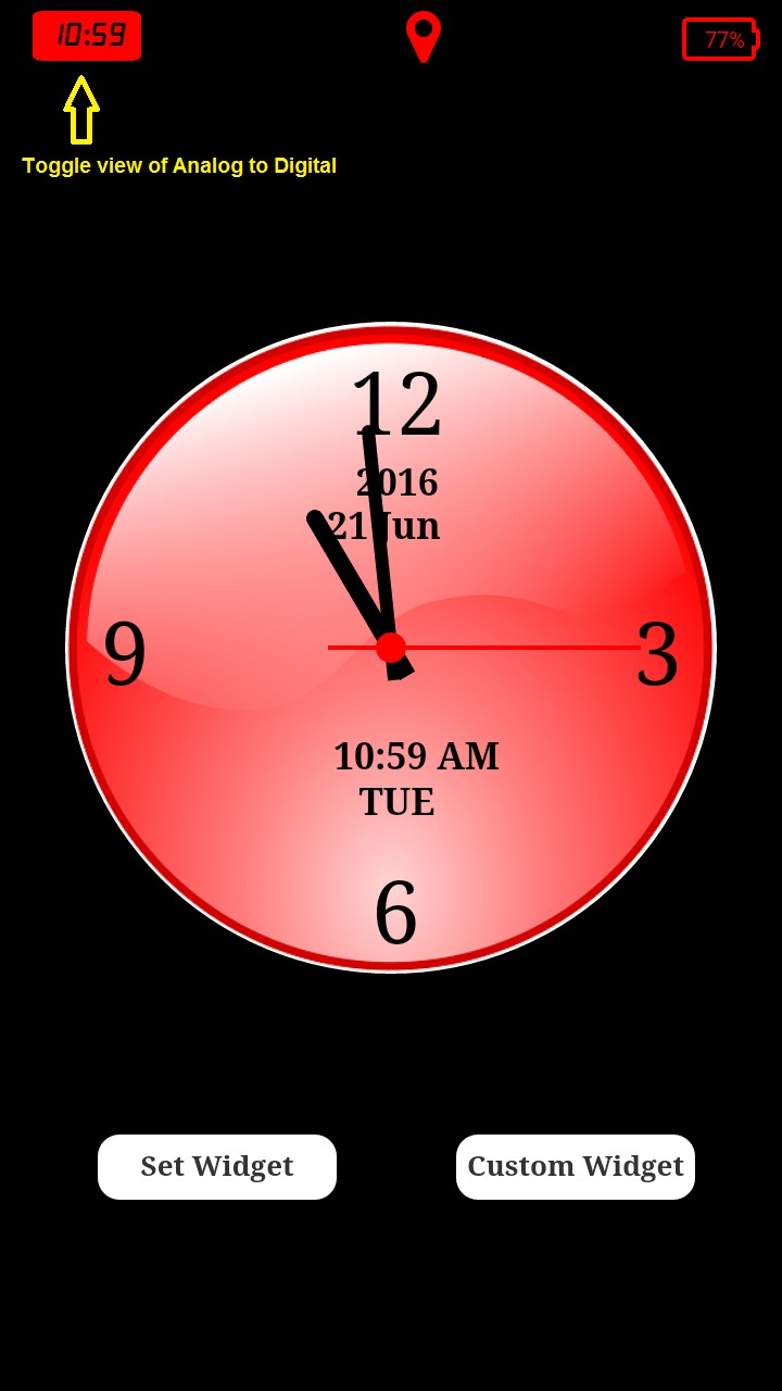 Easy Dual Clock