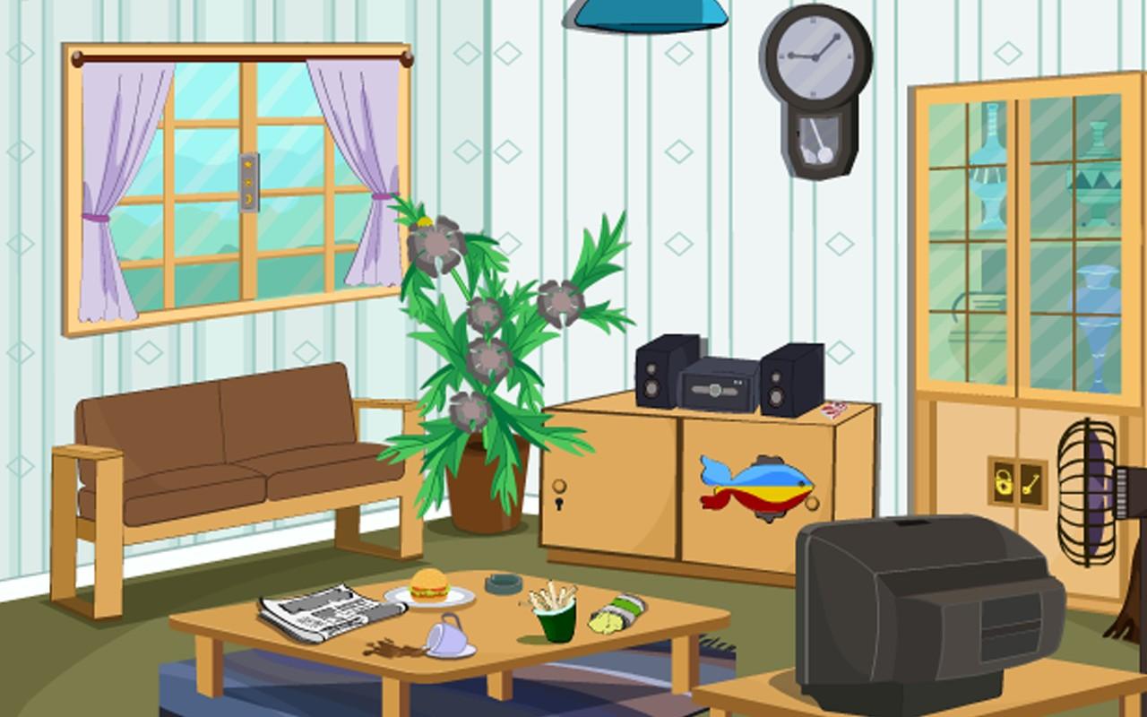 Escape Game-Smart Sitting Room