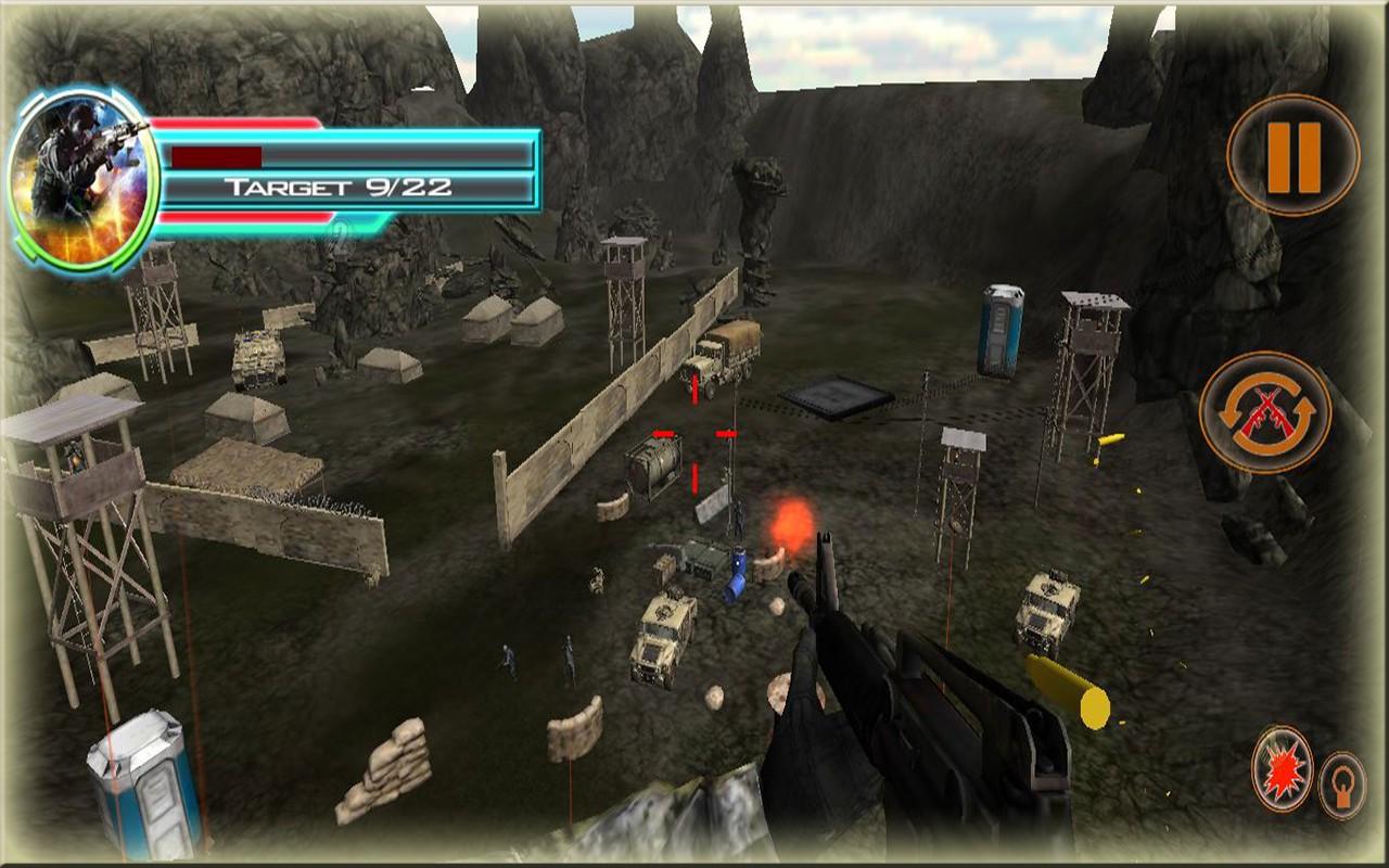 Final Commando Sniper Shooter