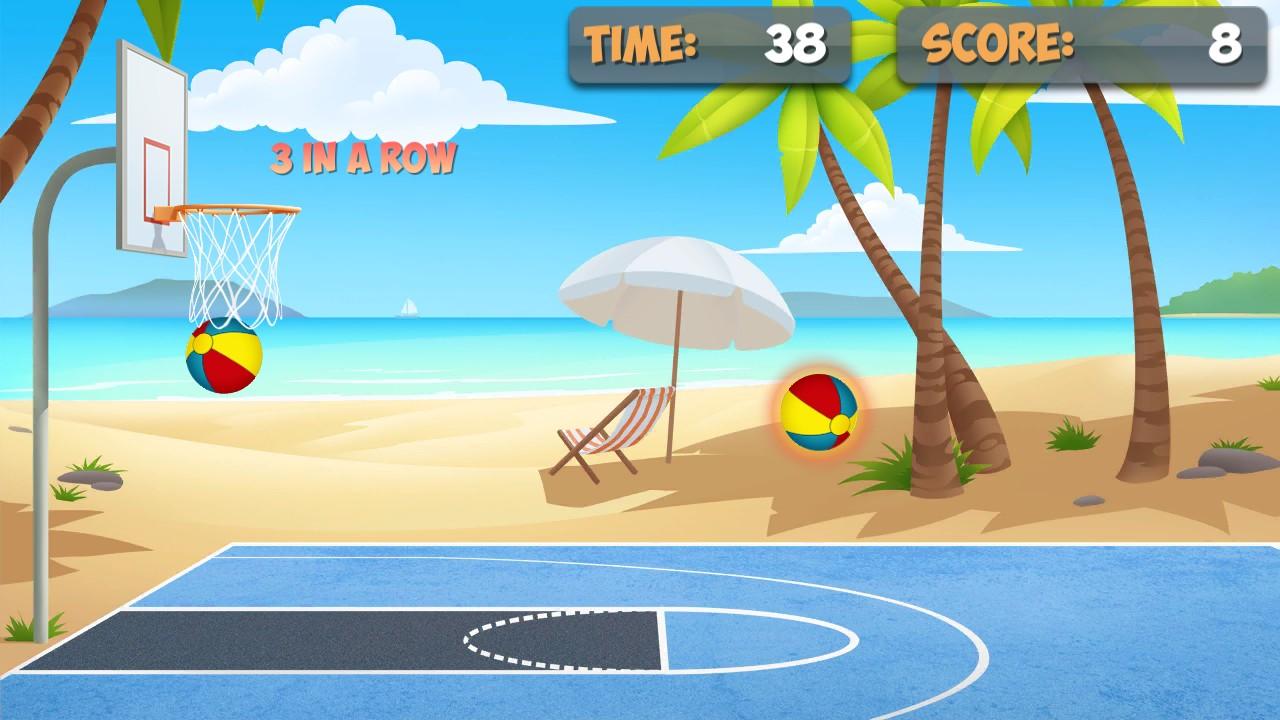 Free Throw Basketball