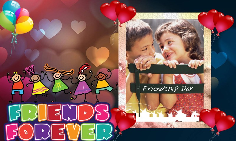 friendship photo frames free