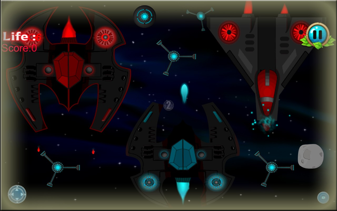 Galaxy Shooter Space War HD