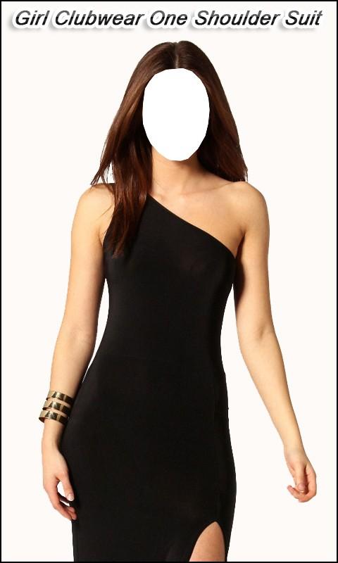 Girl Clubwear OneShoulder Suit