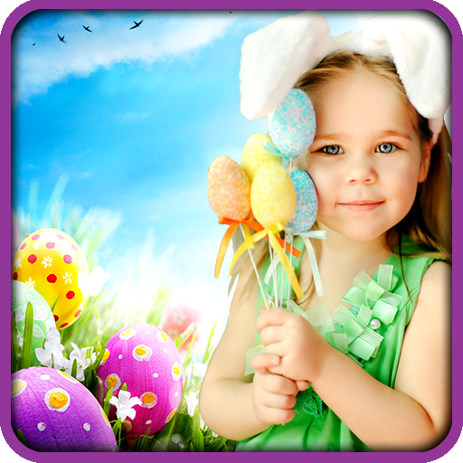 Happy Easter Photo Frames