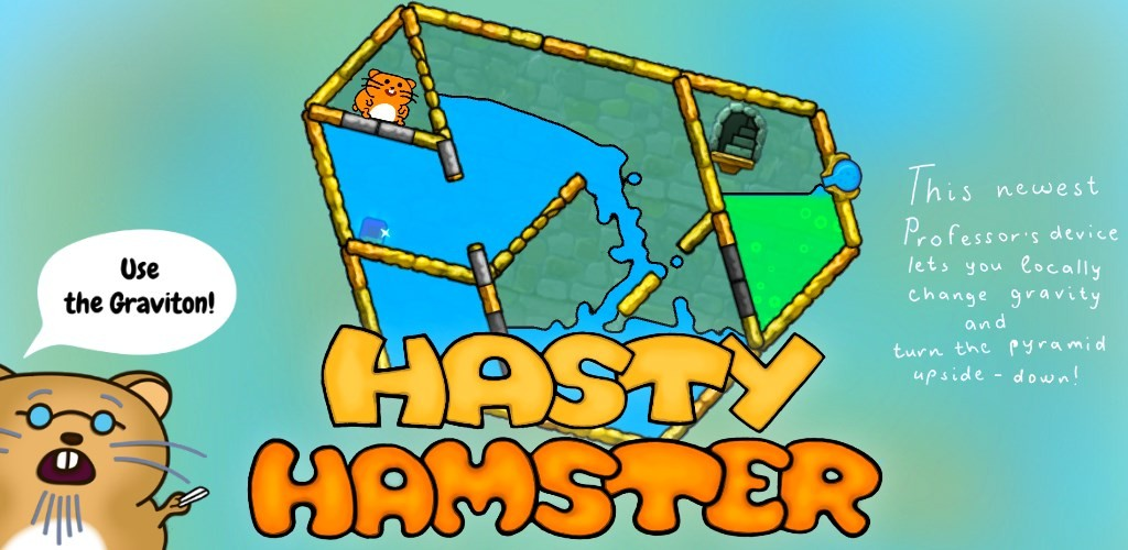 Hasty Hamster - A Water Maze