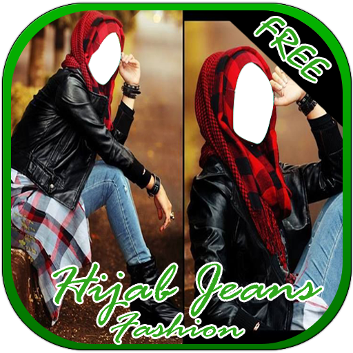Hijab Jeans Girl Fashion Suit