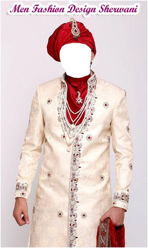 Men Fashion Design SherwaniApp