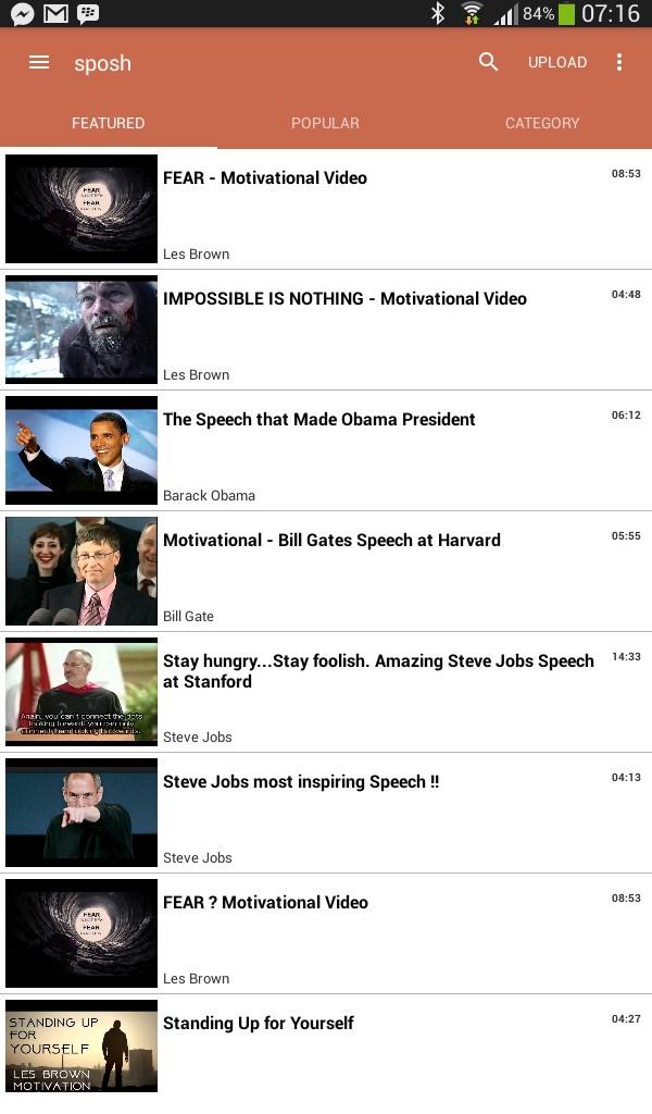 Motivational Videos: Sposh