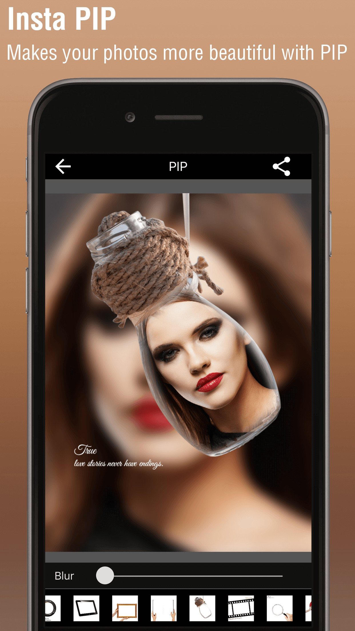 PIP Camera - Square Image Maker