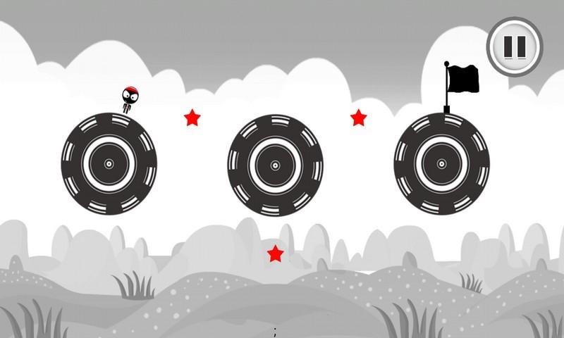 Stickman Stunt : Super Jump