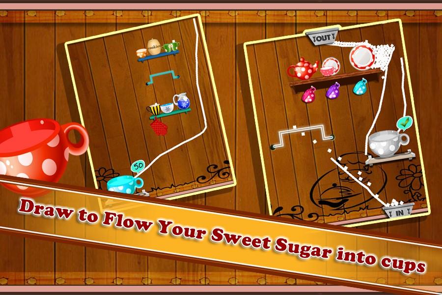 Sugar Cup Fever : Brain Game