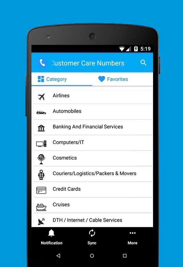 toll free & Customer App